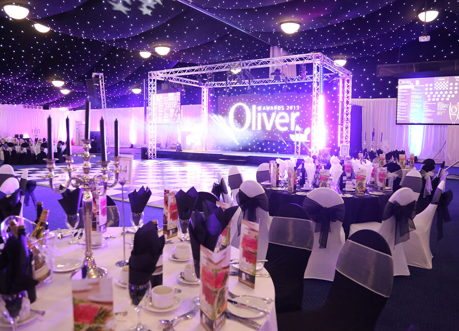 Oliver awards event