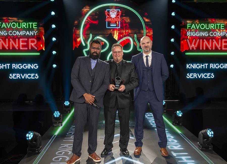 TPI awards favourite rigging company winners